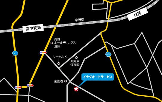 〒701-0212 岡山県岡山市南区内尾608-5の地図